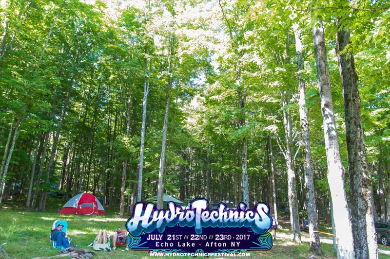 woods camping festival