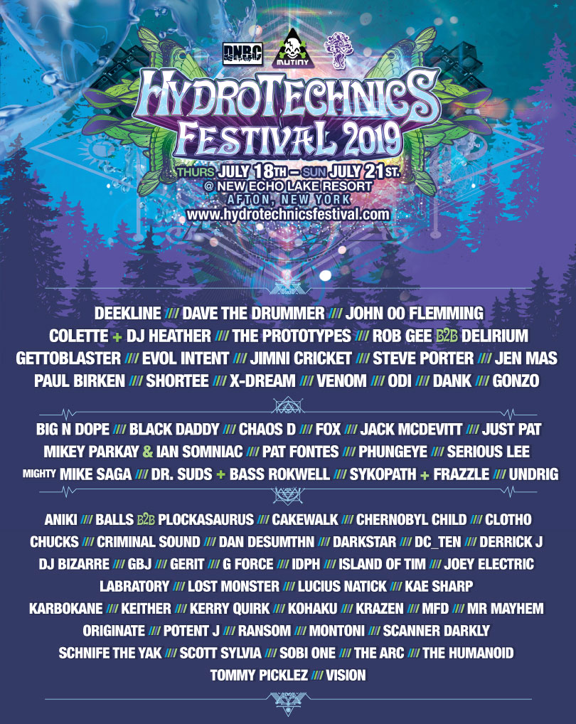 hydro2019lineup