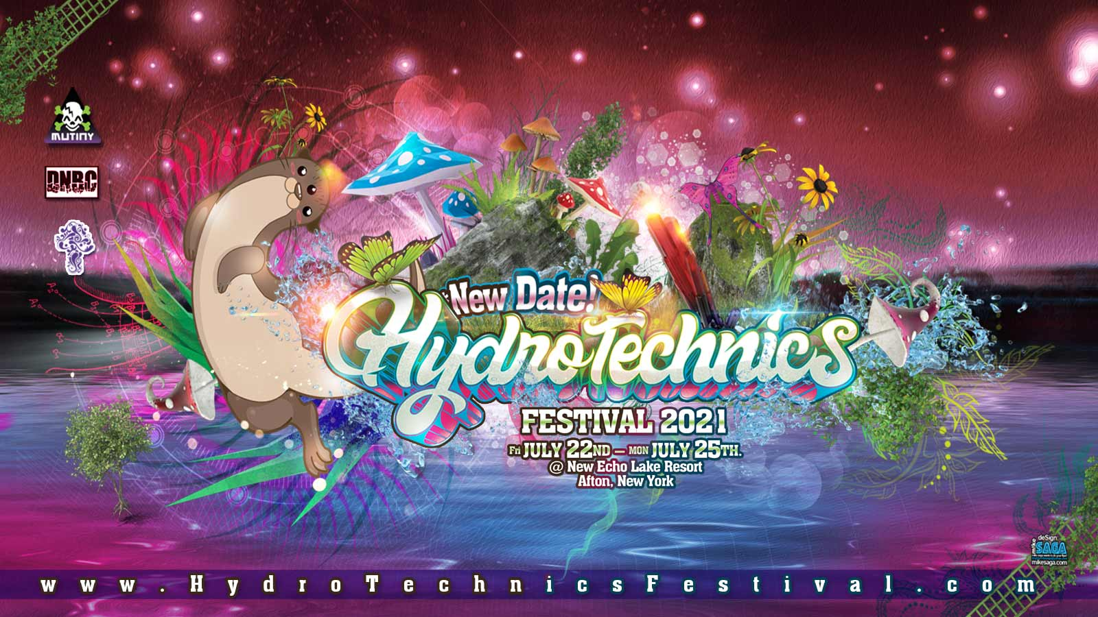 Hydrotechnics Festival - July 22nd-25th, 2021 - New Echo ...